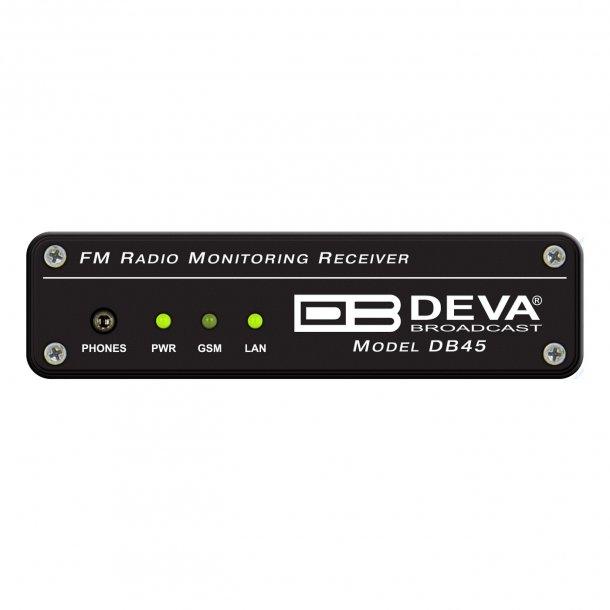 DEVA DB45 DSP-Based FM Radio Receiver and Modulation Analyzer