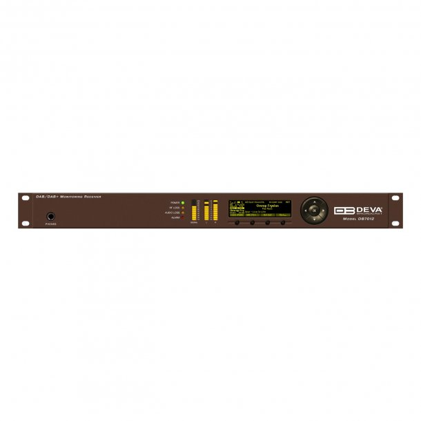 DEVA DB7012 Professional DSP-based DAB/DAB+ Monitoring Receiver NEW - not yet shipping