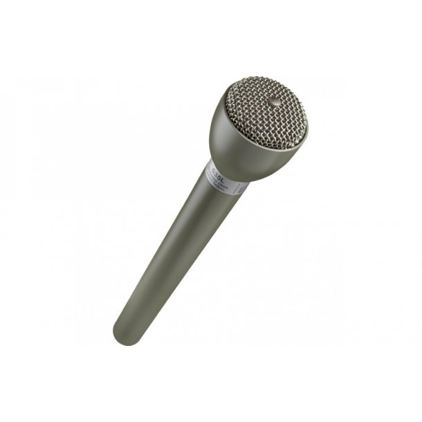 ElectroVoice 635L Reporter Microphone Dynamic, Long Handle Grey