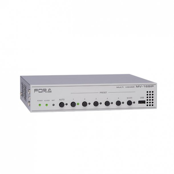 For-A MV-16SIP Multi Viewer for IP Security Cameras