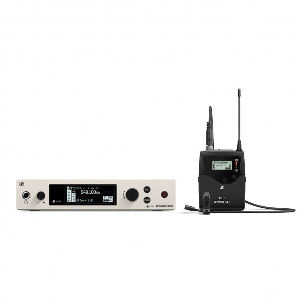Sennheiser EW 500 G4-MKE2-BW all-in-one wireless system