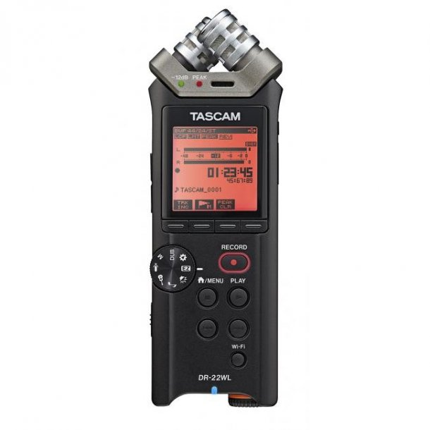 Tascam DR-22WL handheld Audio Recorder
