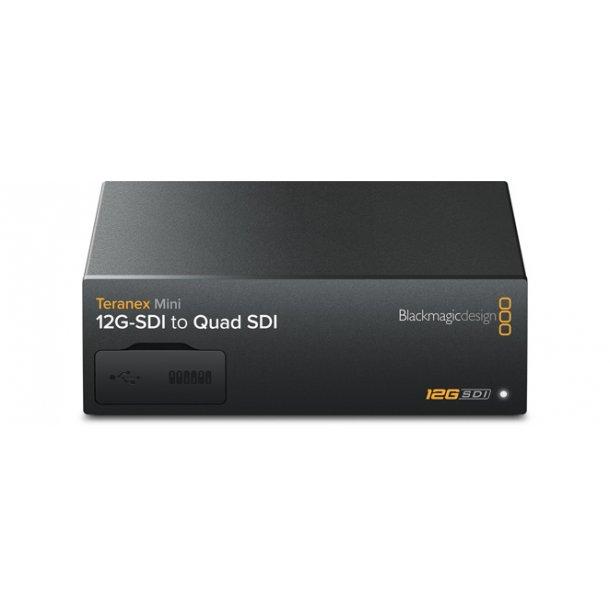 Blackmagic Teranex Mini 12G-SDI to Quad SDI